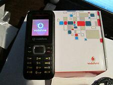 Vodafone 246 OVP simfrei NERO parte di carico operatore QUADERNO SUPER OK Gebr 50 W