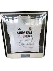 Certified Rare Signed Real Madrid Galacticos 04/05 SeasonRONALDO