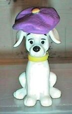 Disney Dalmation Figure with a Purple and Yellow Hat
