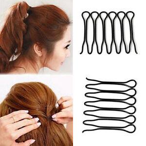 Frisurenhilfe Haarkamm Haarflechte Einsteckkamm Haarstecker Steckkamm