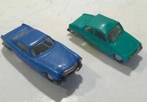 VOLVO P18 & FORD TAUNUS CARS 1:86 SPARES OR REPAIR