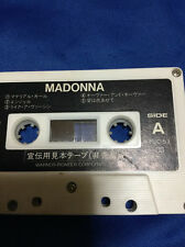 "Rare!  Madonna ""Like a Virgin"" promo cassette tape(not for sale)"