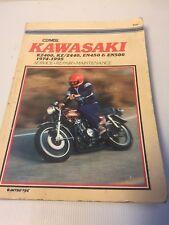 kawasaki kz400 kz440 1974 1984 workshop service repair manua