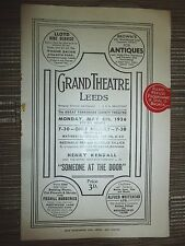 1936 GRAND THEATRE LEEDS : SOME ON AT THE DOOR - HENRY KENDALL - PETRINA FRY