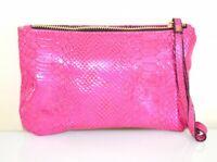MINI BORSELLO ROSA FUCSIA borsellino donna pochette tracolla a mano clutch E179