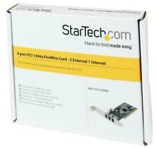 4-Port PCI 1394a FireWire Adaptor Card - STARTECH