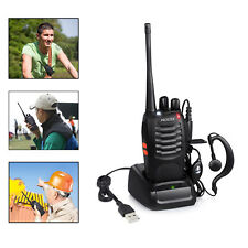 Portable Handheld Two Way Radio Walkie Talkie Scanner Transceiver F-Antenna HAM