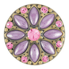 $6.95 Snap w/ Purchase of Any 4 Ginger Snaps Luna Ab Purple/Lt Rose Sn08-64 Free