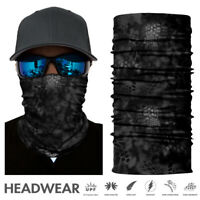 Bandana Head Face Neck Gaiter Biker Outdoor Snood Camo Tube Scarf Headwear