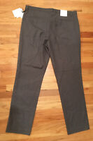"Calvin Klein ""Graystone"" MEN SZ 36 X 32 Slim Fit PANTS NEW WITH TAG POLYESTER BL"
