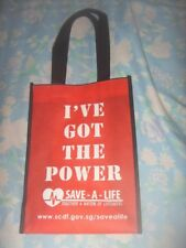 Brand New Small SCDF Cloth Shopping Dust Tote Bag