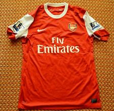 2010 - 2011 Arsenal FC, Home Shirt by Nike, Mens L, #30 Traore, Player Issue