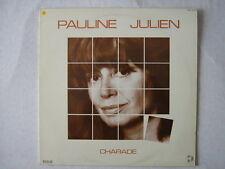 PAULINE JULIEN 33 TOURS FRANCE CHARADE