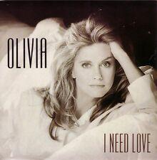 "BRAND NEW UNPLAYED, MINT, OLIVIA NEWTON-JOHN 7"" VINYL EU ""I NEED LOVE"" G MORODER"