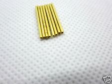 100pc gold plated Copper tube pins for you DIY Tube adapter or others 17*1mm