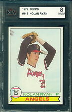 1979 Topps #115 Nolan Ryan KSA 8 Casi Nuevo -!! como Nueva!!! Ángeles
