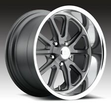 17x8 Us Mag Rambler U111 5x5.0 et1 GunMetal Matte Wheels (Set of 4)