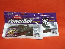 BERKLEY POWERBAIT CREATURE HAWG (4IN) WATERMELON RED MAGIC (8CT)(2PK'S)#1436826