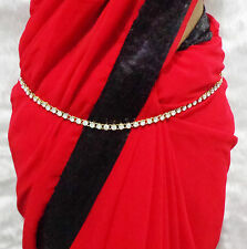 CZ Waist Belt Indian Wedding Party Woman Kamar Bandh Ethnic Hip Chain Jewellery