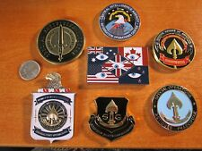 7 Challenge Coins NSA CIA Spy vs Spy CSE GCHQ Five Eyes FVEY Seal Team VI SAD