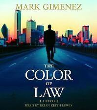 The Color of Law  By MARK GIMENEZ ON CD