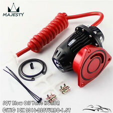 Blow Off Valve BOV IV 4 W/ Adaptor For 2016 Honda Civic 10 220 Turbo 1.5T Red