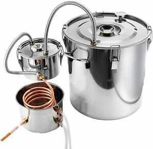 Large Alcohol Distiller Pure Water Moonshine Still Spirits DIY Home Brewing Kit