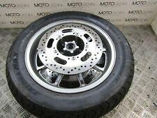Kawasaki 2009 VN 1700 VULCAN front wheel rim with rotors & good tyre