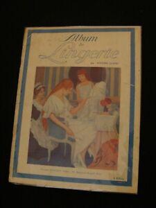 Album de lingerie mode années 1920 par Cousine Claire