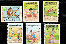 CAMBODIA #488-494  1984  SUMMER OLYMPICS    MINT  VF NH  O.G  CTO