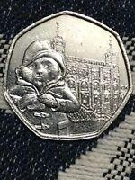 Paddington Bear At The Tower Of London 50p Circulated Coin 2019