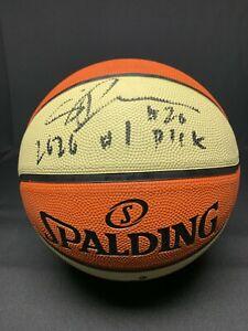 Sabrina Ionescu Signed WNBA Basketball Fanatics B025696 w/ Inscription