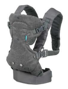Infantino Flip Advanced 4-in-1 Convertible Baby Carrier Grey