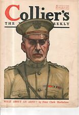 1917 Collier's March 17 - Gen. Pershing; Schoonover; A Day in Montgomery AL