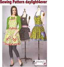Women Apron With Petticoat Sewing Pattern 7208 McCall's New Size XS-XL 4-22 #z
