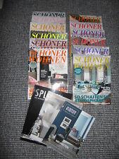 Schöner Wohnen Häuser 2017/16/15 Zeitschriften  Sammlung Konvolut 12 X Hausbau