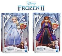 Disney Frozen 2 Singing Elsa Or Anna Fashion Doll Musical Adventure Singing Doll