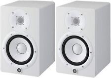 """Coppia Yamaha Hs7-w Monitor Attivo biamplificato 7"""" 95w Bianco DJ Studio Canto"""