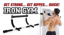 Iron gym door chin up bar push up bars dips sit ups