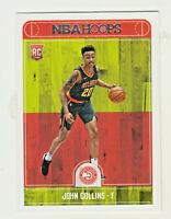 2017-18 Panini NBA Hoops #269 JOHN COLLINS RC Rookie Atlanta Hawks