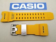 Genuine Casio G-Shock Mudmaster GWG-1000-1A9 yellow resin watch band strap