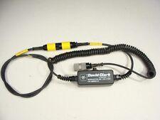 David Clark Aviation Headset Push To Talk Box PTT MBIRT 6-Pin to Nexus AJ-107BR