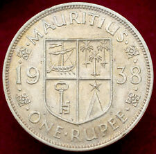 More details for mauritius rupee 1938 (h2708)