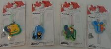 Beaver Suitcase Bag Luggage Canada Tag Zipper Pull Moose Black Bear New in Pack
