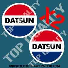 JDM VINTAGE DATSUN DECAL STICKER X2 CONCEPT RALLY DRIFT JAPANESE RETRO STICKERS