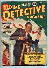 Dime Detective pulp, May 1942, Norbert Davis, D. L. Champion