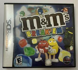 M&M's Break 'Em Nintendo DS 2007  Complete