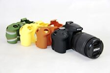 Soft Silicone Rubber Skin Armor Case for Nikon D3200 D3300 D3100 camera