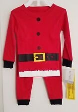 New Carter'S Santa Claus Pajamas Sleepwear 2 Peice Set Girls Boy'S 9 Months