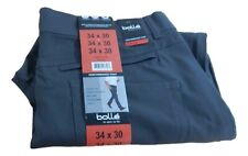 New Men's Bolle Straight Leg Stretch Easy Care Performance Pant w/Wicking